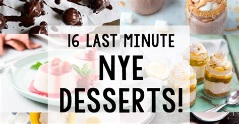 list of new year desserts 16 last minute new year s desserts the unlikely baker