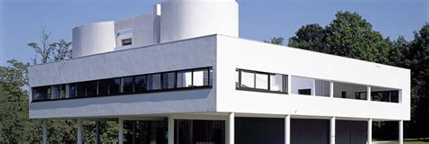 Architecture House Plan by Villa Savoye