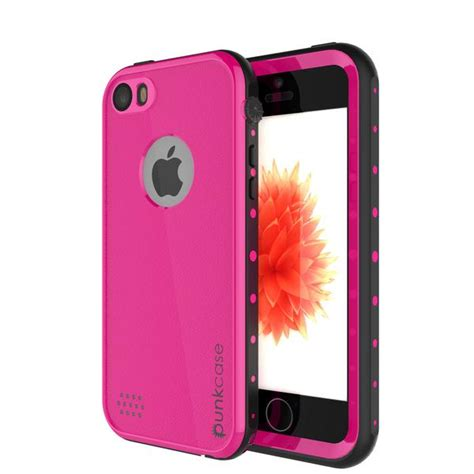 iphone ses waterproof case punkcase studstar pink case watershockdirtsnow proof