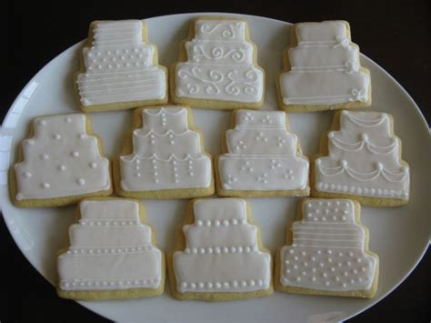 Wedding Cake Cookies by 1000 Images About Cookies Decorated On