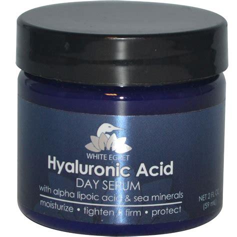 White Egret Personal Care, Hyaluronic Acid Day Serum, 2 fl oz (59 ml)   iHerb.com