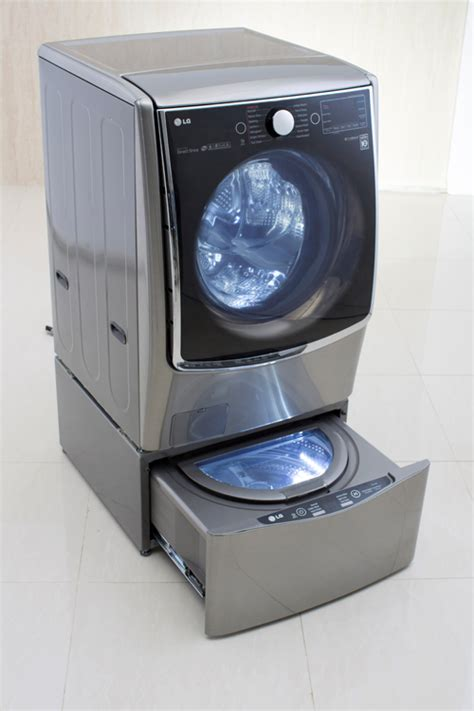 wash machine with wash lg turns heads with bold new washer design