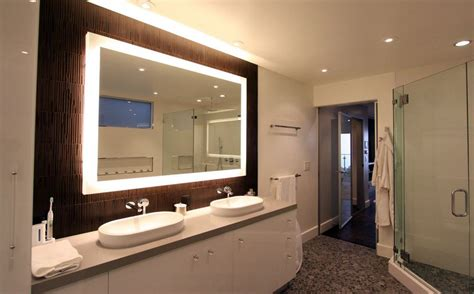 Framed Mirrors For Bathroom by How To A Modern Bathroom Mirror With Lights