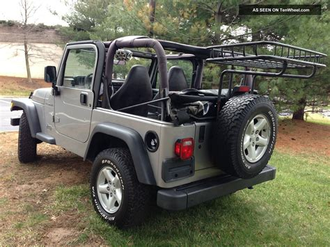 Jeep Wrangler Sport Automatic Transmission 2002 Jeep Wrangler Se Sport Manual Transmission 4wd Va