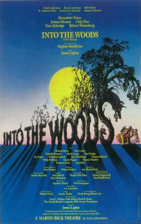 Into The Woods into the woods broadway travel diary