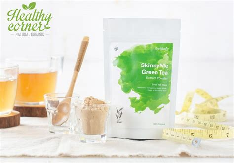 Teh Hijau Powder herbilogy green tea extract powder teh hijau bubuk