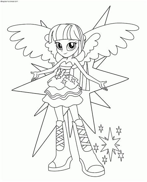 imagenes hipster para colorear dibujos de personajes de my little pony equestria girls