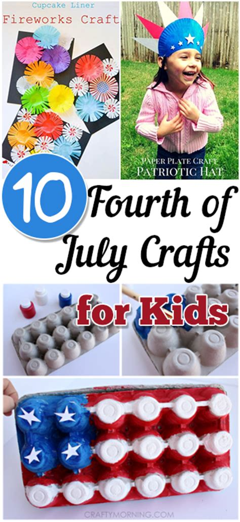 8 fun 4th of july crafts for kids things to make and do 10 fourth of july crafts for kids