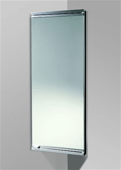 Corner Bathroom Cabinet With Mirror Dardo Mirror Door Bathroom Corner Cabinet By Hib
