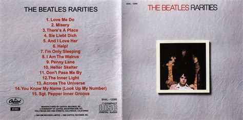 Us Version Dr Ebbetts Beatles Cd Rarities Us Version Mono Stereo