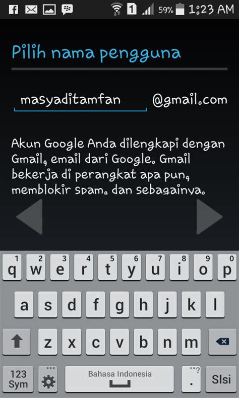 cara membuat gmail untuk bbm android cara membuat email gmail di android dan gambarnya mas yadi