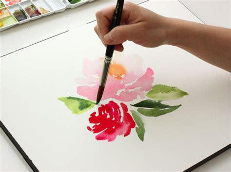 watercolor rose tutorial for beginners 9 ideal watercolour tutorials for beginners drawings