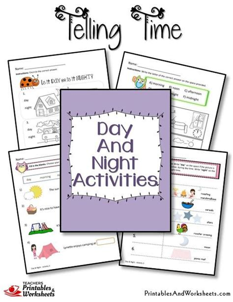 Day And Worksheets by Telling Time Worksheets Printables Worksheets