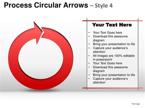 Process Planning Steps Smart Arts Circular Arrows 4 Powerpoint Presen Powerpoint Circular Arrow