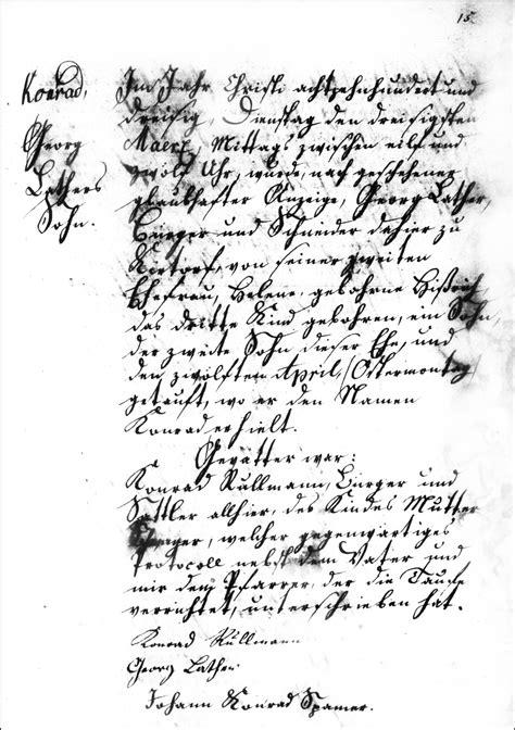 Hesse Darmstadt Birth Records The Birth And Baptism Of Konrad Lather 1830 Steve S