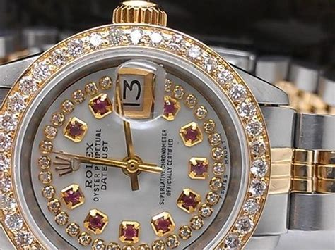 rubies vs diamonds worth rolex with diamonds and rubies in the bezel so