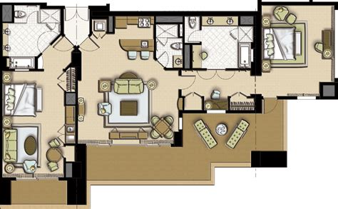 Room Floor Plan Maker Book A Luxurious Suite At The Atlantis Resort And Casino