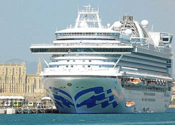 cruise ship crown princess : picture, data, facilities and