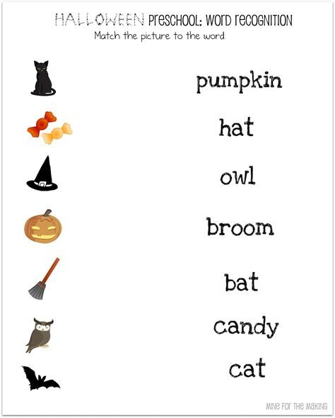 printable halloween worksheets for preschoolers halloween week halloween preschool printables mine for
