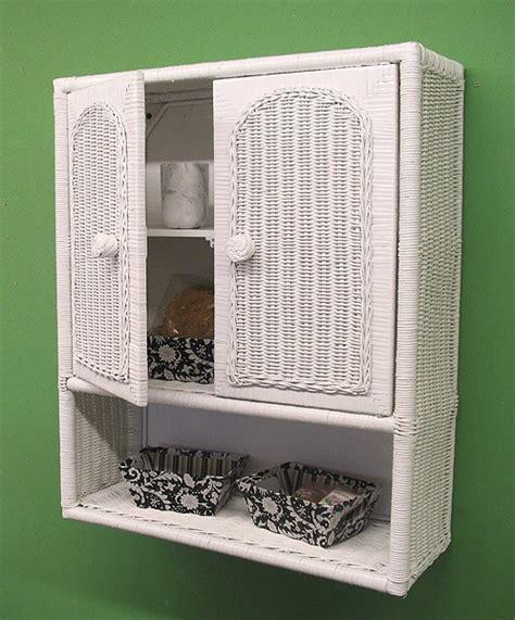 medicine cabinet with wicker baskets wicker wall cabinet