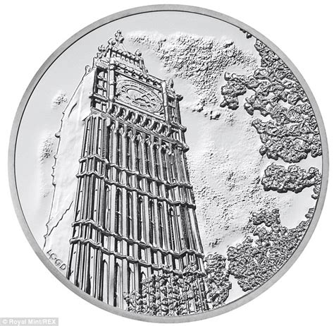 coin limited edition silver piece  mark   year  depiction  big
