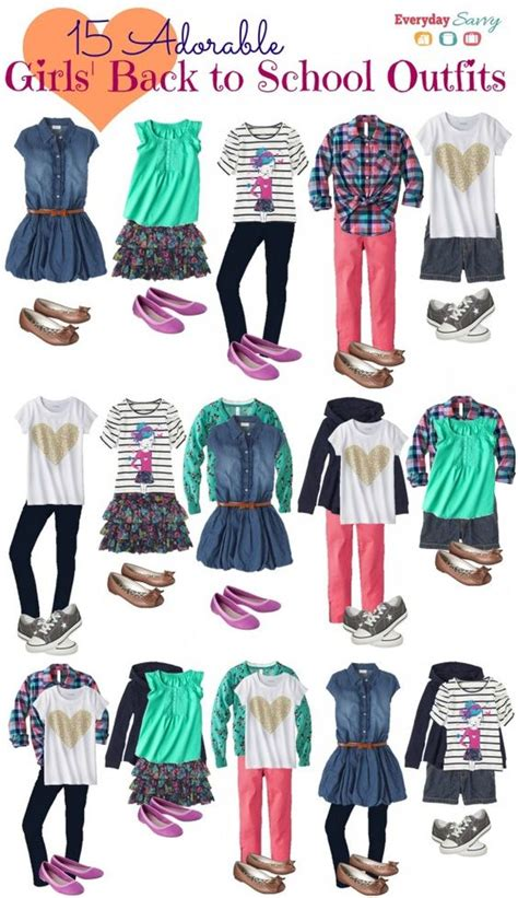 Back To School Fashion Flout by School Clothes For Mix And Match Back To School