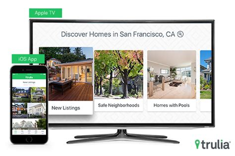 trulia blog trulia launches new apple tv and updated ios apps trulia