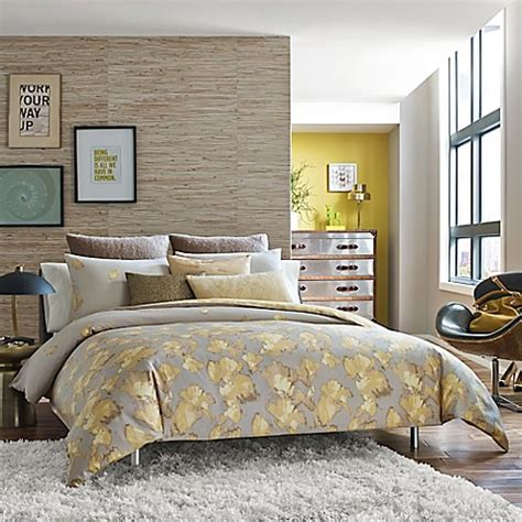 kenneth cole reaction bedding kenneth cole reaction home falling petals comforter bed