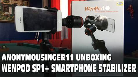 Wenpod Sp1 Digital Stabilizer For Smartphone wenpod sp1 gyroscopic digital smartphone stabilizer