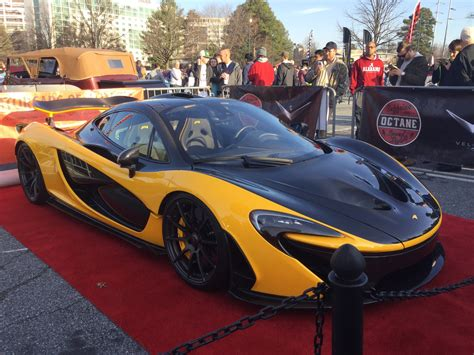 mclaren p1 vp4 in atlanta