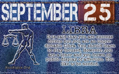 Do You Capitalize Calendar Year September 25 Zodiac Birthday Horoscope Personality Sun Signs
