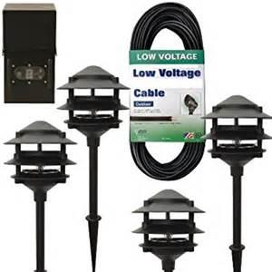 low voltage landscape light kit moonrays 95651 premium low voltage metal path light kit