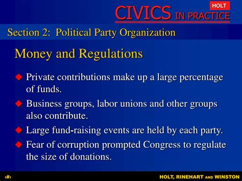 political section ppt chapter 10 electing leaders powerpoint presentation