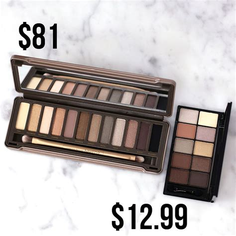 S Dapat Back Naked4 4 Eyeshadow Pallete we tested these decay rip offs so you don t to