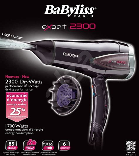Babyliss D361e Hair Dryer Expert Plus babyliss d361e hair dryer alzashop