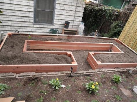 easy raised garden bed diy easy access raised garden bed the owner builder network