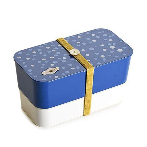 2 tier stackable bento lunch box