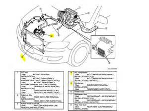 mazda 3 air conditioning diagram mazda auto parts