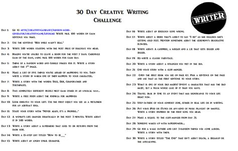 creative writing challenges writer s inspiration comes when it feels like it