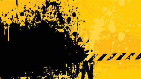 black yellow wallpaper vector abstract graphics grunge industrial vectors walldevil