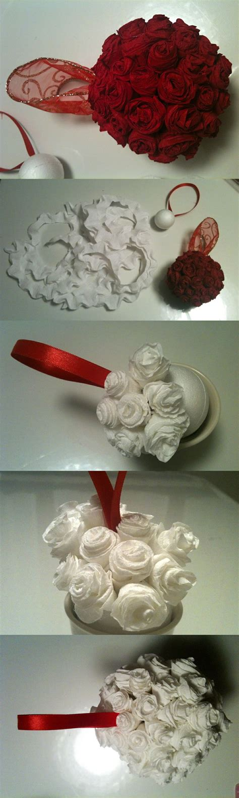 How To Make Crepe Paper Balls - my diy hanging flower made with styrofoam balls