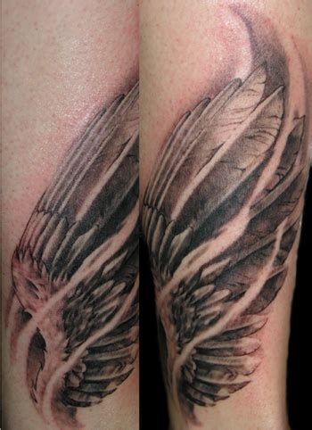 realistic wing tattoo wings images designs