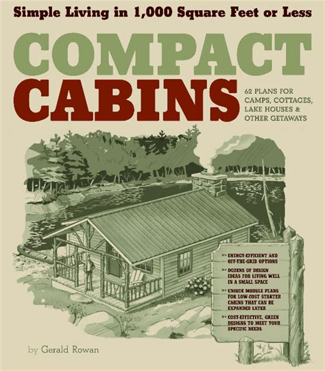 living in 1000 square feet compact cabins simple living in 1000 square feet or less