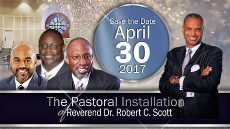 dr c scott ananian pastoral installation of reverend dr robert c scott