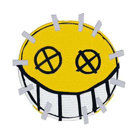 Sticker Ban Tire Bomb Tire Sticker Tire Stix Tire Strike Continental fully embroidered junkrat costume patch set