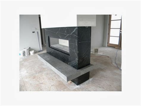 Modern Sided Fireplace by Soapstone Fireplaces Yes Seattle Soapstone
