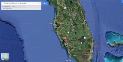 punta gorda florida map vacant residential lot in sw florida near most
