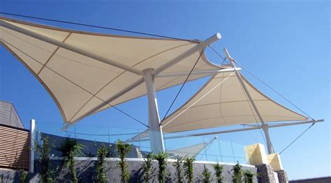 Fabric Canopy Eideindustries Architectural Fabric Shade Structures