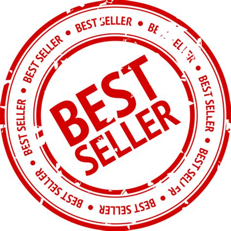Best Seller Terlaris Groosia Original kostenlose vektorgrafik bestseller verk 228 ufer stempel rot kostenloses bild auf pixabay 158885