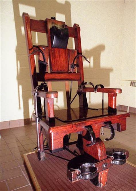debate questions electric chair use